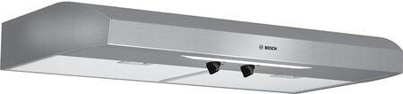 Bosch 300 Series DUH36152UC Under Cabinet Hood Stainless Steel, Main Image