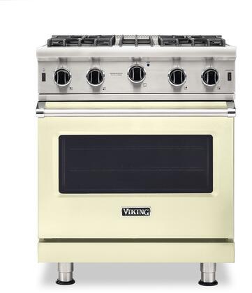 Viking 5 Series VGIC53024BVC Freestanding Gas Range Bisque, VGIC53024BVC Gas Range