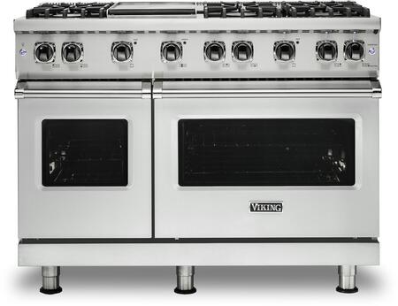 Viking 5 Series VGR5486GFW Freestanding Gas Range White, VGR5486GFW Gas Range