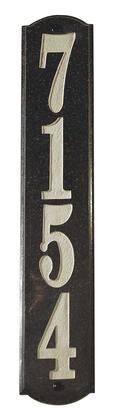 Qualarc Wexford WEX4719BP Address Plaques, WEX 4719 BP