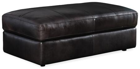 Hooker Furniture SS Series SS600OT097 Living Room Ottoman Black, Silo Image
