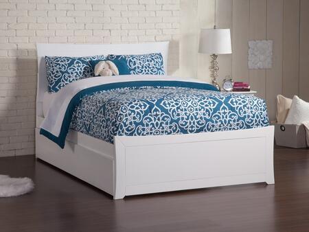 Atlantic Furniture Metro AR9036012 Bed White, Main Image