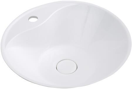 Streamline K1817SLSVF18 Sink White, Main Image