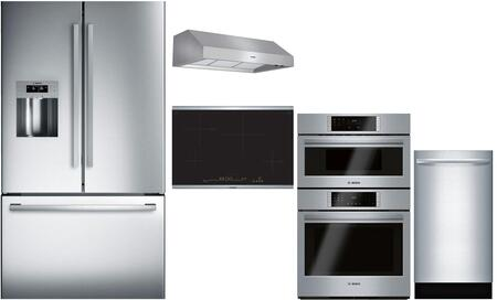 Bosch  902657 Kitchen Appliance Package Stainless Steel, Main image
