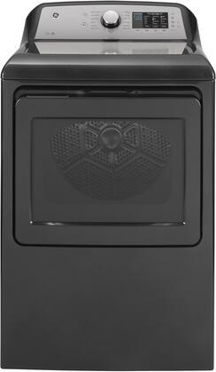 GE  GTD72EBPNDG Electric Dryer Slate, Front View