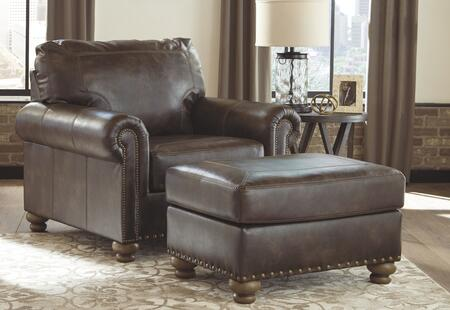 Signature Design by Ashley Nicorvo 80505202SET Living Room Set Brown, Living Room Set