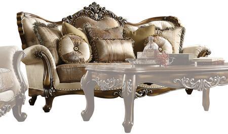 Acme Furniture Latisha 52115 Stationary Sofa Brown, 1