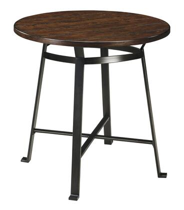 Signature Design by Ashley Challiman D30712 Dining Room Table Brown, Main
