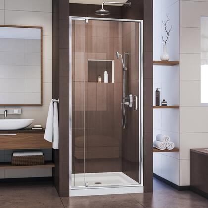 DreamLine DL6215C2201 Shower Door, Flex Shower Door Chrome