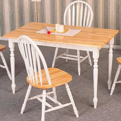 Coaster Damen 4147SETNW Dining Room Set, 1