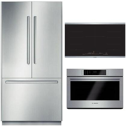 Bosch Benchmark  902742 Kitchen Appliance Package Stainless Steel, main image