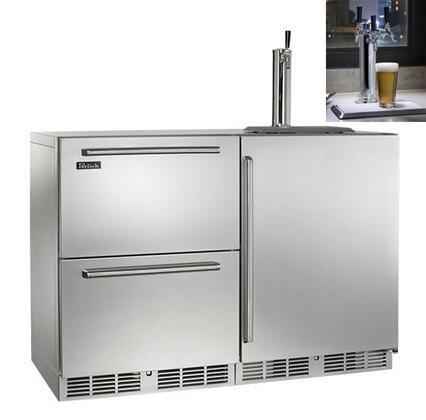 Perlick  HP48RTO51R3 Beer Dispenser Stainless Steel, 1