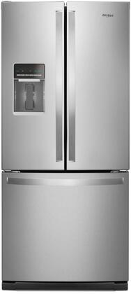 Whirlpool WRF560SEHZ French Door Refrigerator Stainless Steel, Main Image