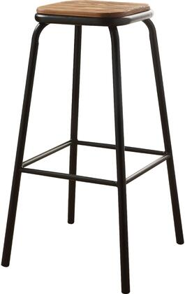 Acme Furniture Scarus 72387 Bar Stool Black, 1