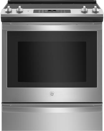 GE  JS760SPSS Slide-In Electric Range Stainless Steel, JS760SPSS Slide In Electric Range