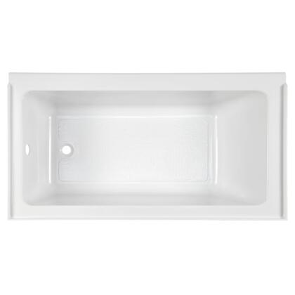 Studio 2973212.011 60″ x 30″ Alcove Soaking Bathtub with Left Drain  in Arctic