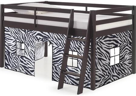 Bolton Furniture Roxy AJRX10P0ATZEB Bed Black, AJRX10P0ATZEB side
