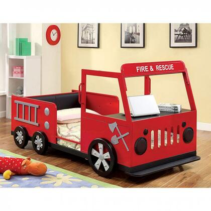 Furniture of America Rescuer CM7767BED Bed, 1
