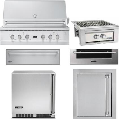 Viking 5 Series 889610 Grill Package Stainless Steel, Main Image