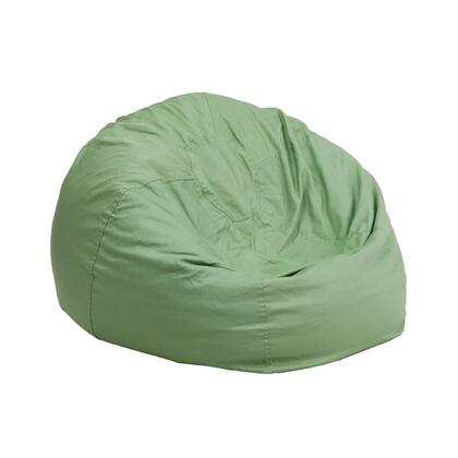 Flash Furniture DGBEAN DGBEANSMALLSOLIDGRNGG Bean Bag Chair Green, DGBEANSMALLSOLIDGRNGG