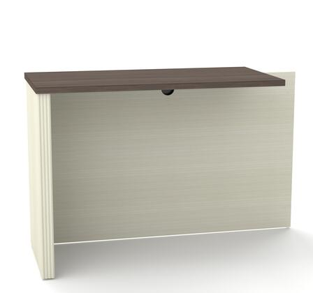 Bestar Furniture 998101152 Desk, prestige+ white chocolat antigua 99810 52 2