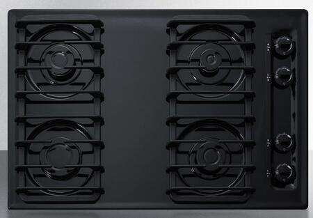 Summit  TTL053S Gas Cooktop Black, Main Image