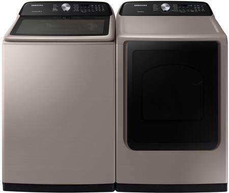 Samsung  1227106 Washer & Dryer Set Champagne, 1