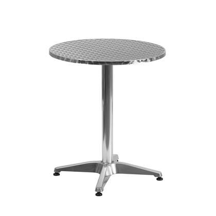 Flash Furniture TLH05 TLH0521GG Outdoor Patio Table Stainless Steel, TLH 052 1 GG