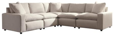 Signature Design by Ashley Savesto 311026446774665 Sectional Sofa Beige, Main Image