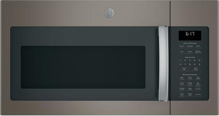 GE  JVM6175EKES Over The Range Microwave Slate, Front View