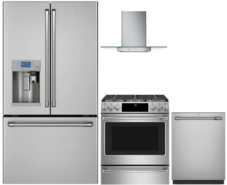 Cafe 1053322 Kitchen Appliance Package & Bundle Stainless Steel, main image