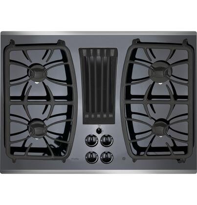 GE Profile  PGP9830SJSS Gas Cooktop Stainless Steel, Main Image