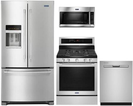 Maytag 767722 Kitchen Appliance Package & Bundle Stainless Steel, main image