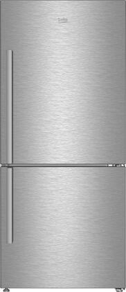 BFBF3018SS 30″ Counter Depth Bottom Freezer Refrigerator with 16.2 cu. ft. Capacity  EverFresh+  NeoFrost Dual Cooling Technology and IonGuard