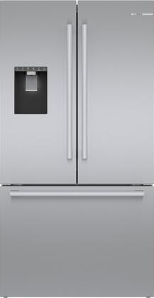 Bosch 500 Series B36CD50SNS French Door Refrigerator Stainless Steel, 1