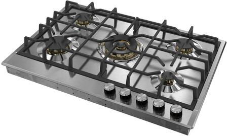 Verona Designer VDGCT530FSS Gas Cooktop Stainless Steel, VDGCT530FSS Gas Cooktop