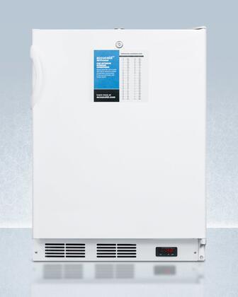 AccuCold  VT65MLPROADA Compact Freezer White, VT65MLPROADA Compact Freezer
