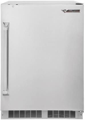 Twin Eagles  TEOR24F Compact Refrigerator Stainless Steel, Main Image