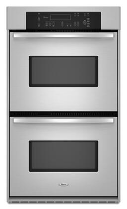 Whirlpool  RBD307PVS Double Wall Oven Stainless Steel, 1