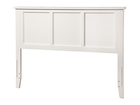 Atlantic Furniture Madison AR286832 Headboard White, AR286832 SILO F 180