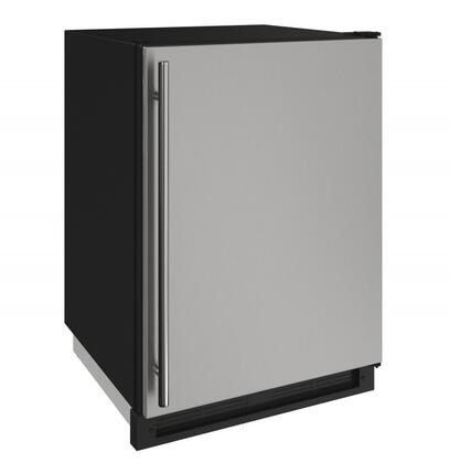 U-Line  U1224FZRS00A Compact Freezer Stainless Steel, Stainless View