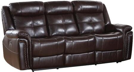 Acme Furniture Anita 54160 Motion Sofa Brown, 54160 Side