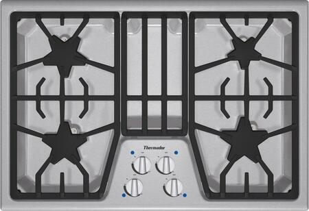 Thermador Masterpiece SGS304FS Gas Cooktop Stainless Steel, SGS304FS 30-Inch Gas Cooktop