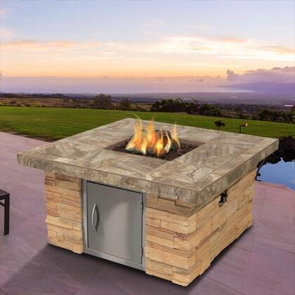 Cal Flame Fpt S301m 48 Inch Outdoor Fire Pit With 55 000 Btu
