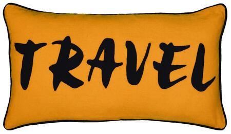 Rizzy Home Cover COVT06391BE001121 Pillow Orange, DL fbc37534f0a6f99c97b8a49b70d8