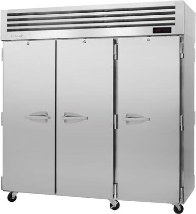 PRO-77H-PT 78″ Pro Series Solid Door Pass-Thru Heated Cabinet with 78.1 cu. ft. Capacity  Digital Temperature Control & Monitor System  Ducted Fan