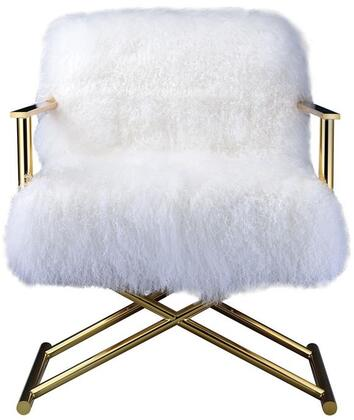 Acme Furniture Bagley 59452 Accent Chair White, 1