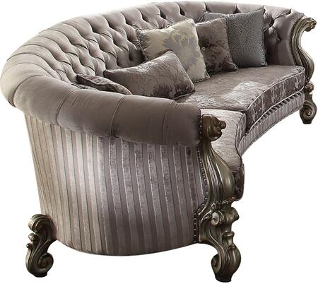 Acme Furniture Versailles 56845 Stationary Sofa Gray, Sofa