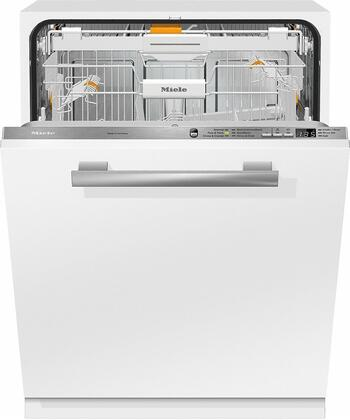 Miele Crystal G6665SCVI Built-In Dishwasher Panel Ready, G6665SCVI Fully-Integrated, Full-Size Dishwasher