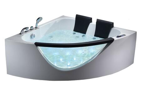 Alfi  AM199HO Bath Tub , A Front Look at the Tub with water